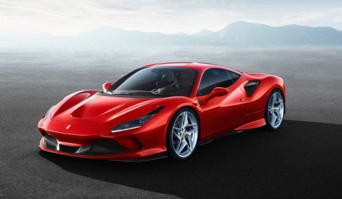 """Ferrari'nin En Yeni Spor Aracı """"F8 Tributo"""" Güçlü V8 Motoruyla Gösterildi!"""