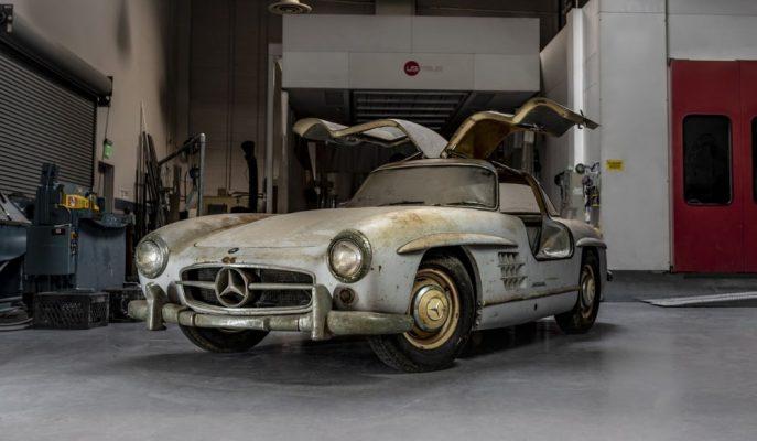 Mercedes 50 Yılı Aşkındır Öylece Bırakılan 300 SL'yi ABD Fuarı'na Getiriyor!