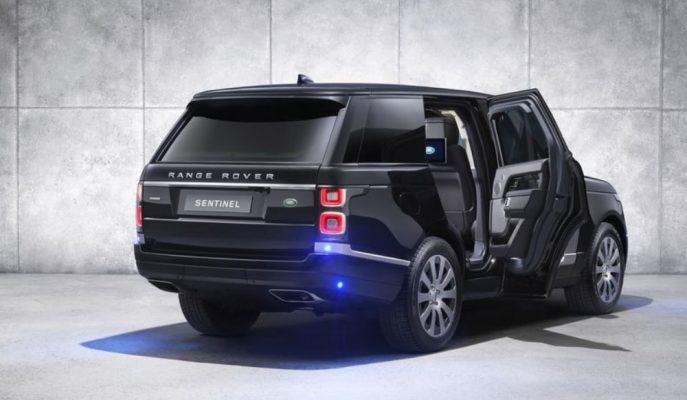 """JLR'nin Özel Araç Biriminden 5.4 Tonluk Zırhlı """"Range Rover Sentinel"""""""