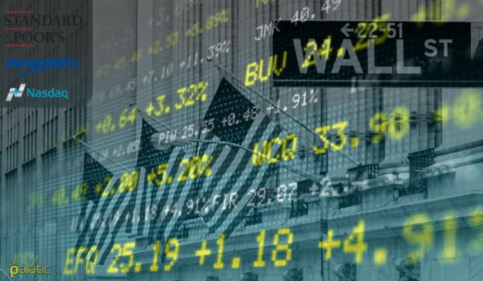 ABD Hisse Senetleri Yükselirken S&P 500 Tepe Yaptı, Hazine Kıymetlerinde Verim Arttı
