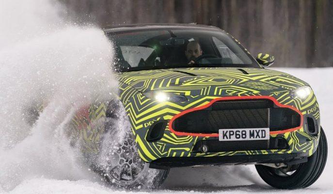 Aston Martin'in 2020 DBX SUV'u için Çektiği Test Klibi!