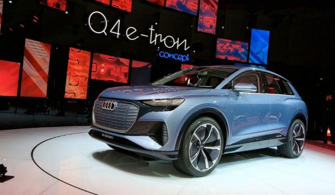 Cenevre'de Sergilenen Audi Q4 Konsepti Kompakt SUV'ları Kıskandıracak!