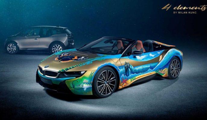 """""""4 Element BMW i8"""" Temiz Okyanus ve Doğa için Açık Artırmada Satılıcak!"""