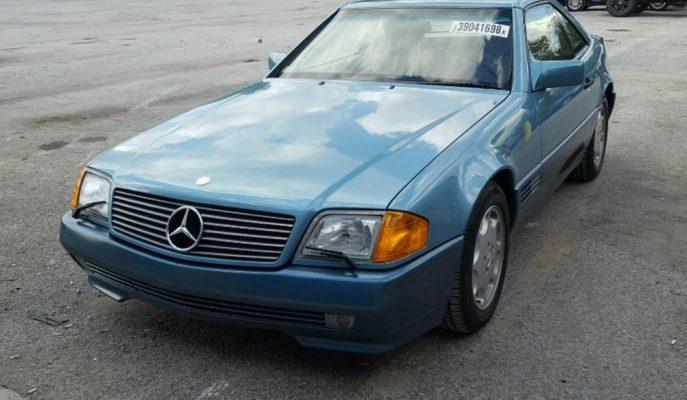 1991 Yılında Bayiden Çalınan Mercedes SL 500 28 Yıl Sonra Ortaya Çıktı!