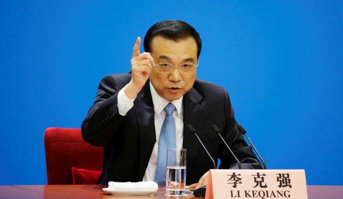"""Çin Başbakanı: Ekonomimiz """"Yeni, Aşağı Yönlü Baskı"""" ile Karşı Karşıya"""