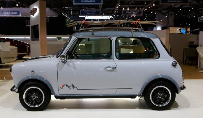 David Brown Automotive'in 130 Bin Dolarlık Mini Classic'leri!
