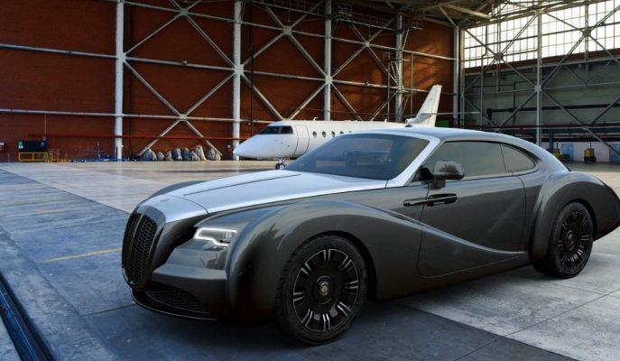 Retro Araç Duayeni Eadon Green'in Rolls Royce Tabanlı ZRR Modeli