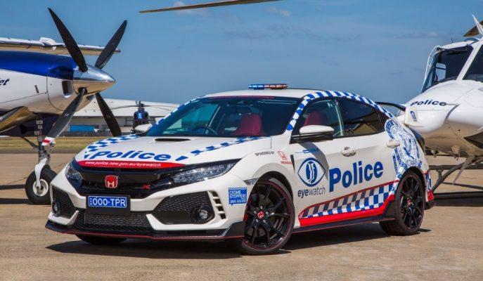 Honda Civic Type R Avustralya Polis Departmanına Katıldı!