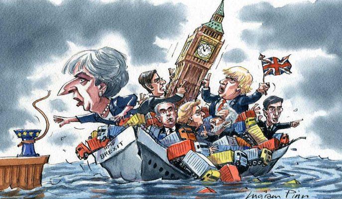 İngiliz Parlamentosu Ayrılık Anlaşmasını Onaylarsa Brexit 22 Mayıs'ta Gerçekleşecek