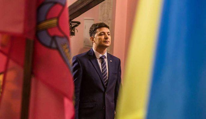 Komedyen Aday Ukrayna'nın Başkanlık Seçimlerini Kazanmak Üzere Olabilir
