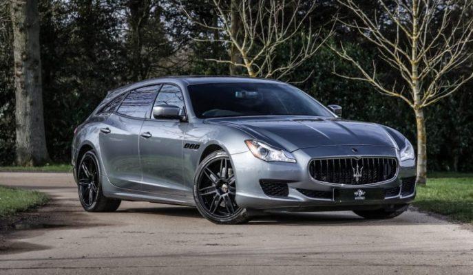 """İlginç Bir Hikayesi Olan Dünyadaki Tek """"Maserati Quattroporte Shooting Brake"""""""