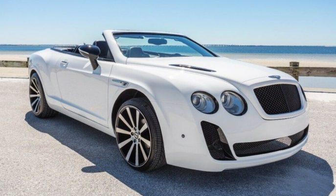 Gördüğünüz Bentley Continental'in İçerisinde Bir Chrysler Sebring Gizli!