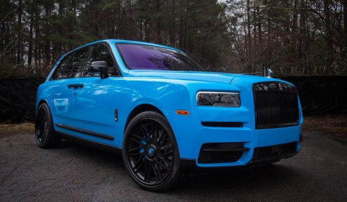 """Rolls Royce Cullinan Bu Sefer Amerikalı Rapçi """"Offset"""" için Hazırlandı!"""