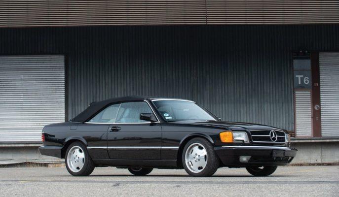 "1988 Mercedes 560 SEC Cabriolet: ""Satılık Sanat Eseri"""