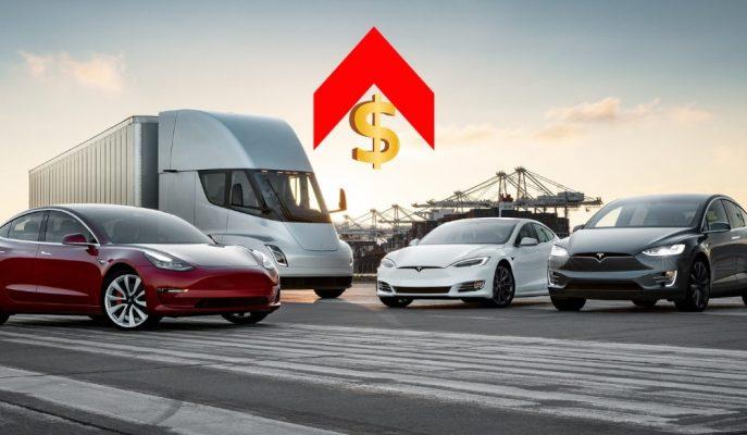 """Tesla Şaşırtıcı Şekilde Tüm Modellerini Kapsayan """"Zam Haberini"""" Duyurdu!"""