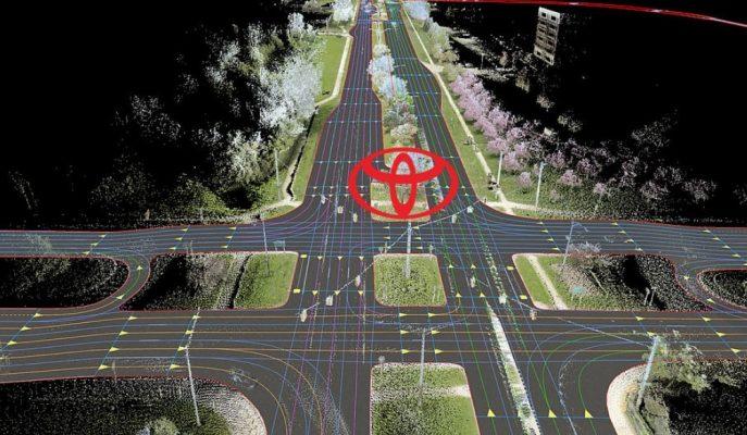Toyota Otonom Araçlar için HD Haritalar Geliştirecek!