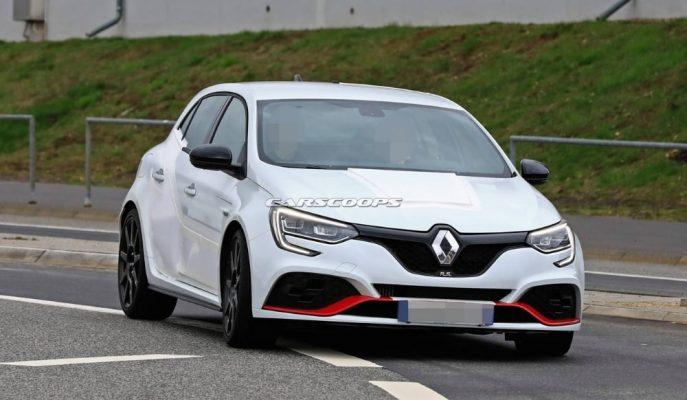 Renault Megane RS Trophy Nürburgring Nordschleife Rekoru için Asfalta İndirildi!