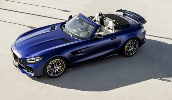 "Rüzgarlara Meydan Okuyan Üstsüz: ""Mercedes AMG GT-R Roadster"""