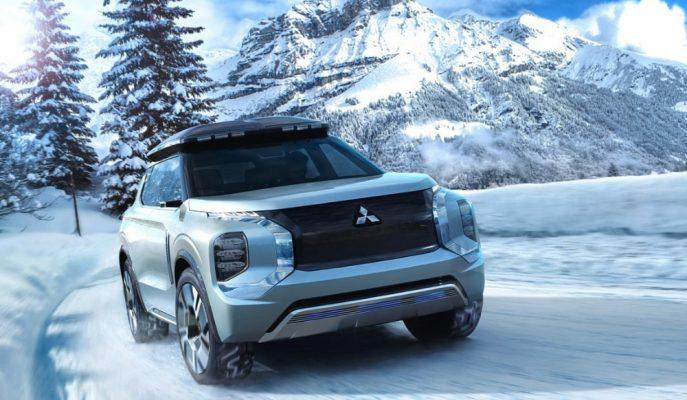 """Mitsubishi Geleceğin Outlander'ını Gösterdi: """"Engelberg Concept"""""""