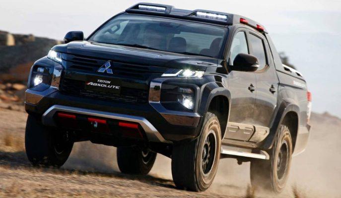 Mitsubishi, Ford Ranger Raptor'ı L200 Triton Absolute ile Durduracak!