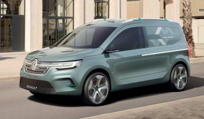 2020 Renault Kangoo Z.E Concept Yeni Nesli İşaret Ediyor!
