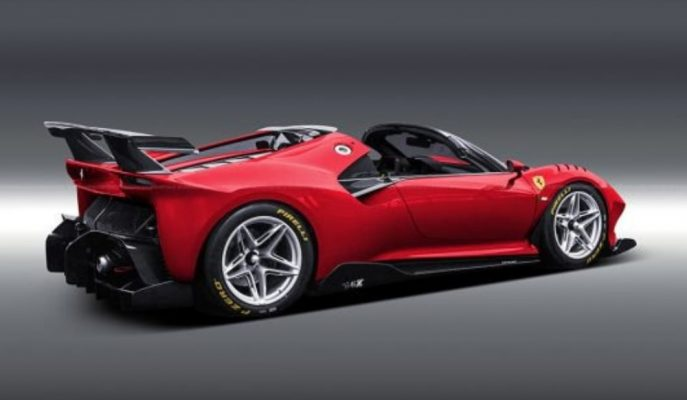 Aksyonov Nikita'dan Ferrari P80/C'ye Spider Fikri!