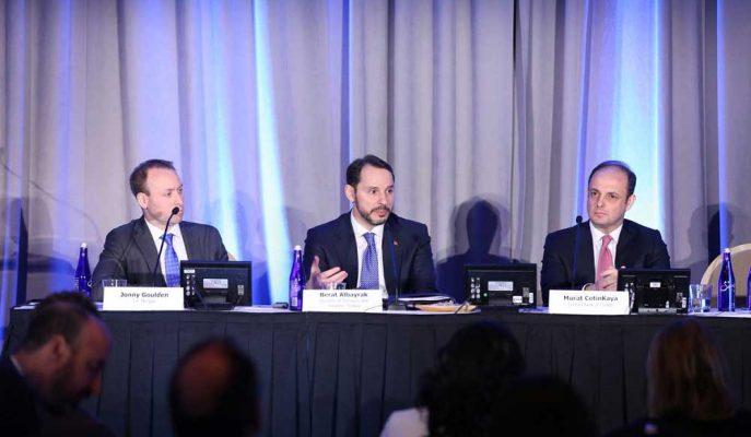 Bakan Albayrak Washington'daki Özel Toplantıda Yatırımcıları İkna Edemedi