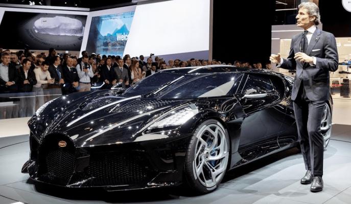 Bugatti CEO'su Markanın İkinci Ürünü için Yeşil Işık Yaktı!