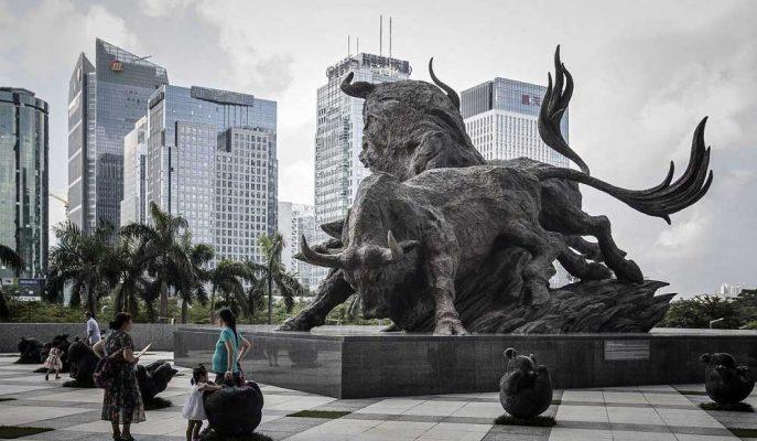 Çin Borsaları Yılbaşından Bu Yana Yüzde 30'dan Fazla Yükseldi