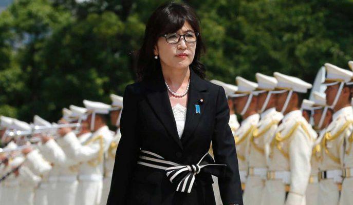 Eski Savunma Bakanı Tomomi Inada Japonya'nın İlk Kadın Başbakanı Olmayı Hedefliyor