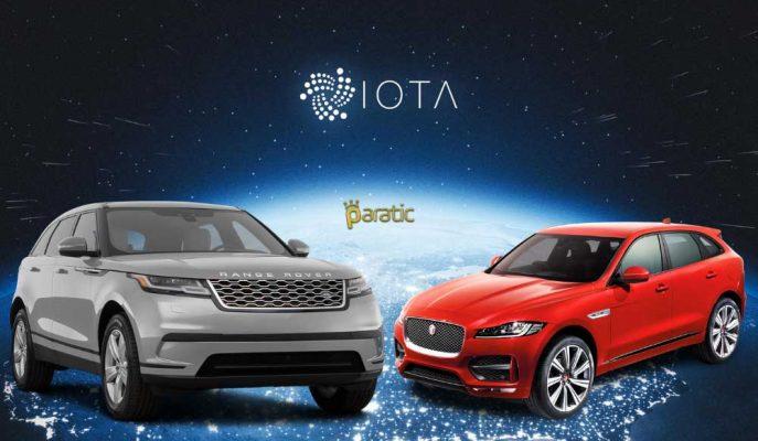 Jaguar Land Rover, Altcoin IOTA ile Bir Ortaklık İşine Giriyor