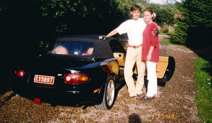 Koenigsegg Patronu 1992 Mazda MX-5'ine 25 Yıl Sonra Yeniden Sahip Oldu!