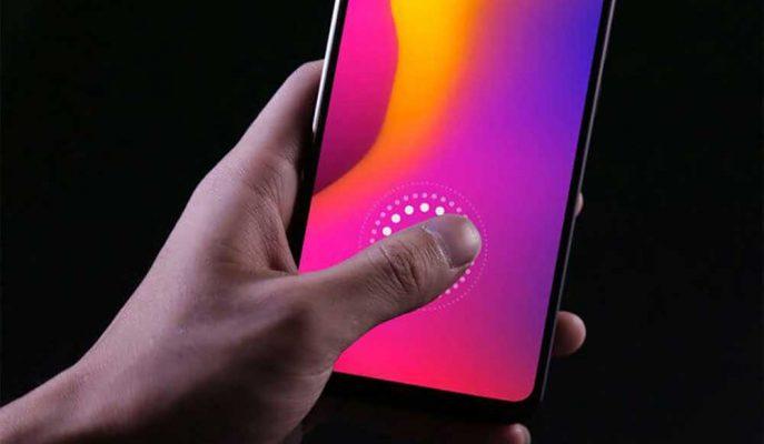 LCD Ekrana Entegre Edilen Parmak İzi Sensörü Geliştirildi
