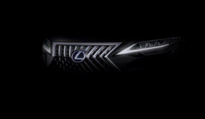 Lexus'un Şangay Fuarı'na Getireceği Yeni Aracının Sırrı Çözülmeye Çalışılıyor!