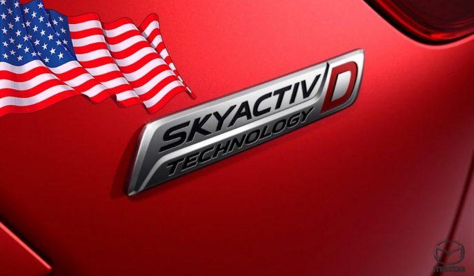Emisyon Sıkıntılarına Rağmen Mazda, Dizel Skyactive-D Motorunu ABD'ye Yolluyor