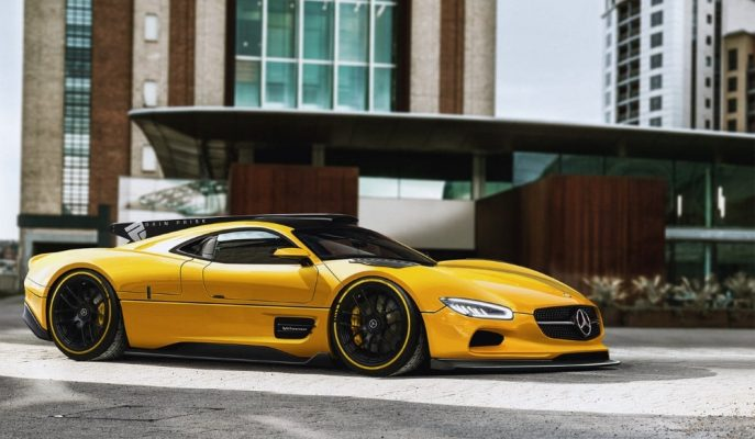 Mercedes'in Akıllardan Çıkmayan Hiper Aracı CLK-GTR'ın AMG One ile Birleştirilmesi!