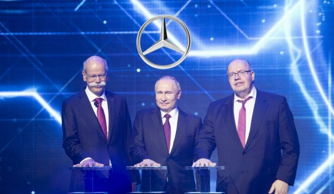 Putin, Mercedes'in Rusya'daki İlk Üretim Tesis Açılışını Gerçekleştirdi!