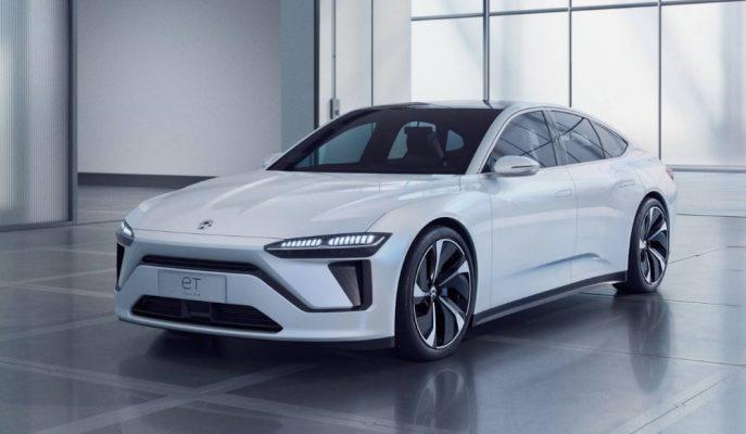 Çinli Neo Tesla Model 3'e Rakip Olacak Şık Sedanı ET Preview'i Tanıttı!