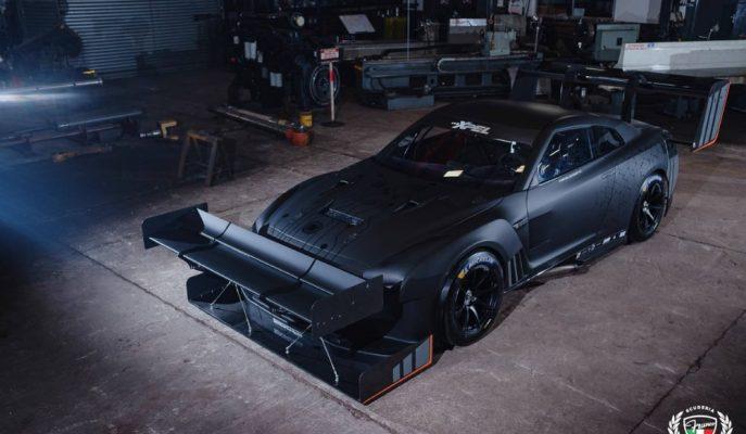 Hillclimb'in Matador Kıyafetli Nissan GT-R35'i