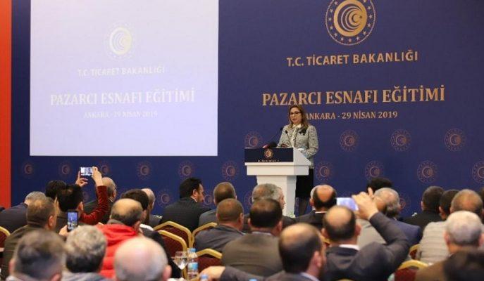 İlki Ankara'da Yapılan Pazarcı Esnafına Yönelik Eğitimler 10 İlde Verilecek