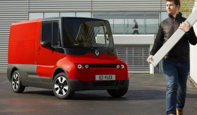 Renault'un Elektrikli Yapıdaki EZ-FLEX Aracı Her Kesimin Yardımcısı Olacak!