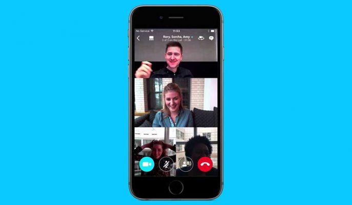 Skype'ın Mobil Uygulamalarında Ekran Görüntüsü Paylaşmak Mümkün Olacak