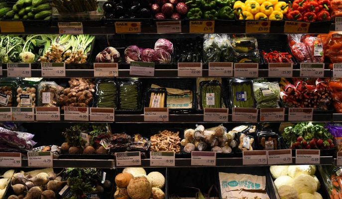TCMB: Gıda Enflasyonu Taze Meyve ve Sebzedeki Artışla Yükseldi
