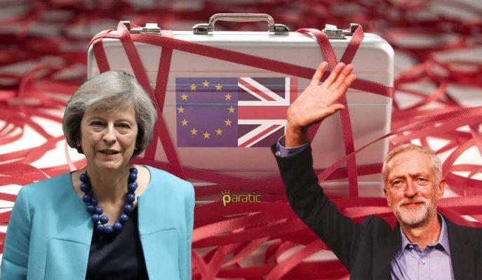 Theresa May, Brexit için Üç Gündür Jeremy Corbyn ile Görüşüyor