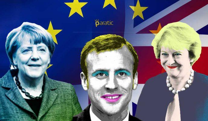Theresa May, Brexit Zirvesi Öncesi Merkel ve Macron'dan Yardım İstedi