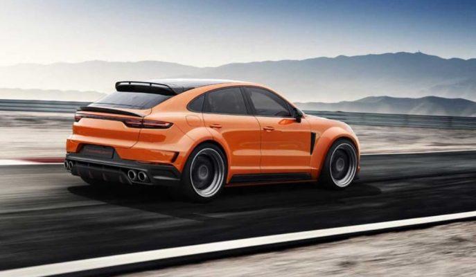 Porsche Cayenne Coupe'ye Yapılan Geniş Gövde Çalışması!