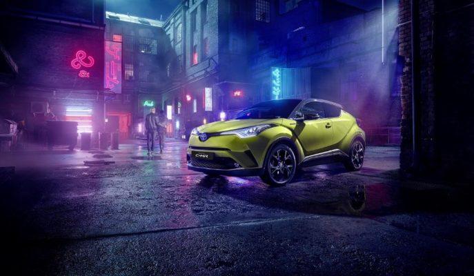 Toyota ve JBL CH-R Neon Lime ile Farklı İşlere İmza Atmaya Hazırlanıyor!