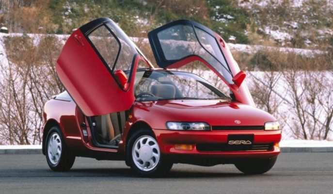 Japon McLaren'i Toyota Sera'yı Tekrar Hatırlayalım!