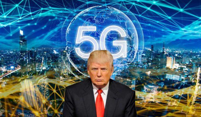 """Trump 5G Girişimlerini """"Bu Amerika'nın Kazanması Gereken Bir Yarış"""" Diyerek Duyurdu!"""