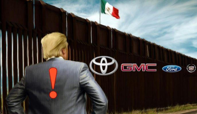 """Meksika: """"ABD Sınır Duvarını Örerse Otomotiv 1 Hafta İçerisinde Durur"""""""